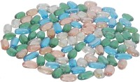 Orchard Orchard1293 Painted Oval Fire Glass Pebbles(Multicolor 750 g)