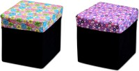 View FabLooms Outdoor & Cafeteria Stool(Multicolor) Furniture