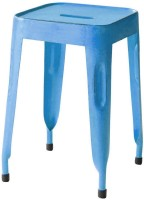 View The Attic Outdoor & Cafeteria Stool(Blue) Furniture (The Attic)