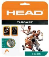 Head Ti Boast 1.30 mm Squash String - 10 m(Silver)