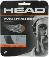 Head Evolution Pro 121 1.25 Squash String - 10 m(Black)