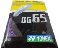 Yonex BG 65 1.25 Badminton String - 10 m(Purple)
