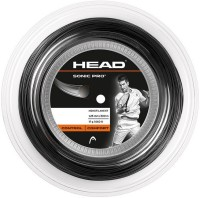 Head Sonic Pro Edge Reel 16 Tennis String - 200 m(Grey)