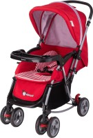Toy House 2 in1 Rocking Stroller M2077,Red(3, Red)