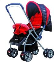 LuvLap Starshine Baby Stroller Stroller(3, Red)