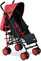 Fisher-Price Lil' Traveler Stroller Cum Pram(Multi, Red)