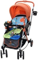 Sunbaby Giraffe Stroller(3, Orange)