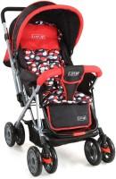 LuvLap Sunshine new Baby Stroller(Red)