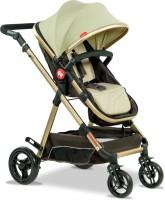 Fisher-Price Hiker Luxury Stroller Cum Pram(Multi, Brown, Gold)