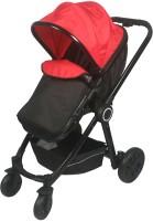 Sunbaby Revolve Stroller(3, Black, Red)