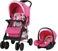 Sunbaby Elegenza Travel System Stroller(4, Pink)