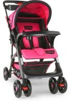 LuvLap Baby Sports Stroller - Pink & Black Stroller(3, Pink, Black)