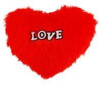 Nxt Gen RED HEART 30 CMS SOFT CUSHION  - 30 cm(Red)