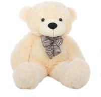 Grab A Deal 2 Feet Teddy Bear with a Bow  - 24 Inch(Beige, Peach)