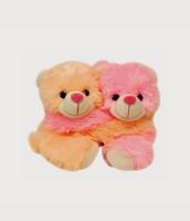 Mydress Mystyle Cute Teddy Bear Couple  - 7 inch(Yellow, Pink)