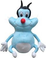 UNIQUEGIFTS2015 16 INCH OGGY SOFT TOY  - 16 inch(MULTICOLOUR)