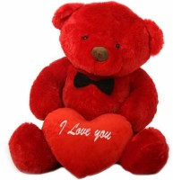 Grab A Deal 2 Feet Big Teddy Bear with Red I Love You Heart  - 24 Inch(Red)