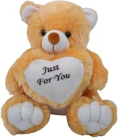 Saugat Traders Just For You Teddy Bear  - 40 cm(Brown, White)