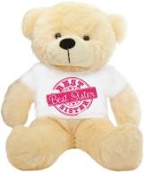 Grab A Deal Special Best Sister 2 feet Peach Big T-shirt Teddy Bear  - 24 inch(Beige, Orange)