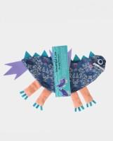 Gemklip Stuff Your Toy – Lisa School Bag(Purple, 14 inch)