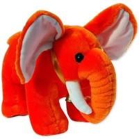 Grab A Deal Jumbo Elephant  - 9 Inch(Orange)