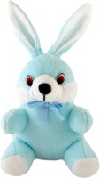 Now-N-New Cute Bunnny Blue  - 18 cm(Blue, White)