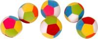 Dream Deals Dream Deals Colourful Ball 4 inch(Pack of 6)  - 4 inch(Multicolour)