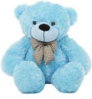 Grab A Deal 2 Feet Teddy Bear with a Bow  - 24 Inch(Blue)
