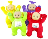 Kuhu Creations Teletubbies Plush Doll Stuffed Toy Nice And Cute Item For Kids(Red, Green, Yellow, Blue)