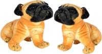 Alexus Two Pug Dog  - 32 cm(Multicolor)