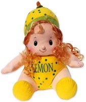 Grab A Deal Cute Smiling Lemon Doll Soft Toy(Yellow)