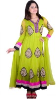 SMUK Single Embroidered Womens Suit