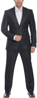 Park Avenue Single Breasted Solid Mens Suit