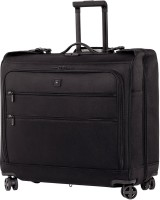 Victorinox Lexicon Dual-Caster 8-Wheel Garment Storage Case Cabin Luggage - 22 inch(Black)