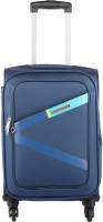 Safari Greater Expandable  Cabin Luggage - 21 inch(Blue)