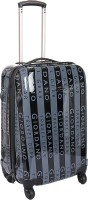 Giordano D-GH-5002 Expandable Check-in Luggage - 23 Inches(Grey)