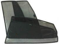 Ultra Fit Side Window Sun Shade For Volkswagen Polo(Black)