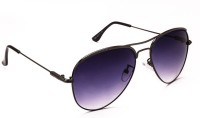 Stacle Aviator Sunglasses(Grey)