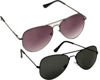 Verre Aviator Sunglasses(For Boys)
