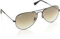 Ray-Ban Aviator Sunglasses(Brown)