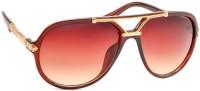 STACLE Aviator Sunglasses(For Men, Brown)