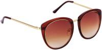 Yora Cat-eye Sunglasses(Brown)