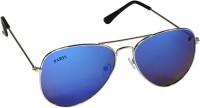 YNA Aviator Sunglasses(For Men, Blue)
