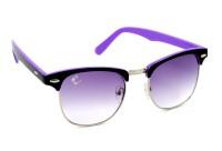 Clark N Palmer CNP-BT-109 Wayfarer Sunglasses(Violet Clear)