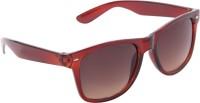 Gansta Wayfarer Sunglasses(Brown)