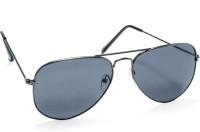 Stacle Aviator Sunglasses(Black)