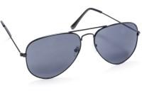 STACLE Aviator Sunglasses(For Men, Black)