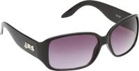 Riyan R 16 Rectangular Sunglasses(Black)