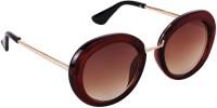 Yora Round Sunglasses(Brown)