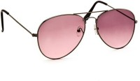 STACLE Aviator Sunglasses(For Men, Red, Pink)